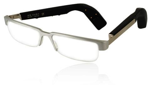 Knochenleitungsbrille